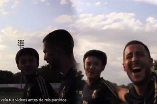 Kubo le revela a Hazard que miraba sus videos y el belga alucina