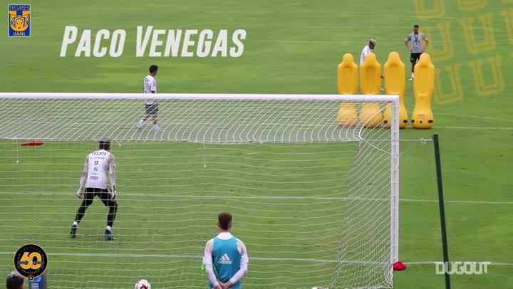 Tigres's free-kick challenge