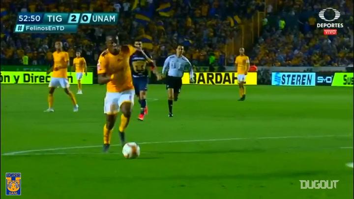 Luis Quiñones' goal vs Pumas