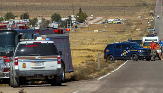 Six arrests, two vehicle rollovers and two cattle struck during Storm Area 51 event