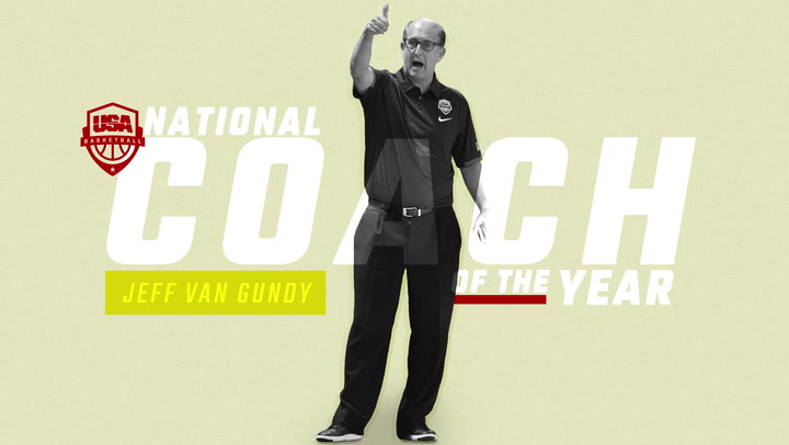 2017 USA Basketball National Coach of the Year - Jeff Van Gundy