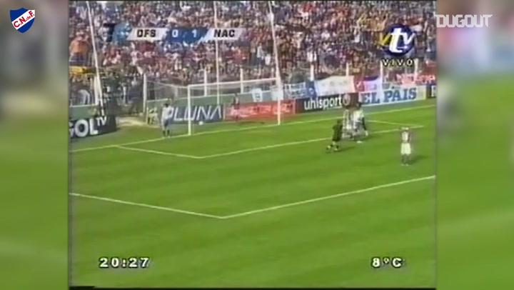 El golazo de Luis Suárez con Nacional ante Defensor Sporting