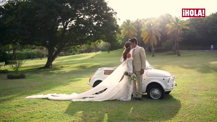 Así fue la romántica boda de Ana Boyer y Fernando Verdasco