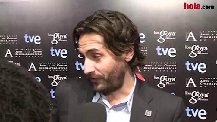 Juan Diego Botto recuerda con emoción a su padre en la fiesta de los nominados al Goya