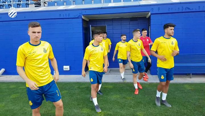 Primer entrenamiento de pretemporada del Espanyol 2019/20
