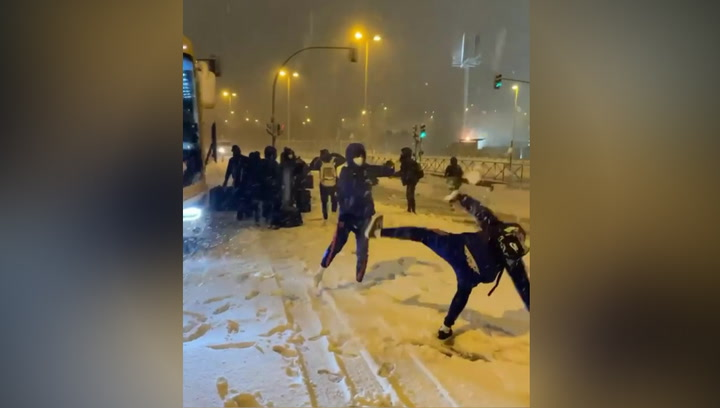 El partido del Barça femenino, suspendido por el temporal