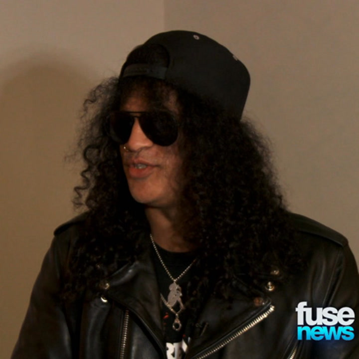 "Slash Says Andre 3000 ""Has the Swagger"" to Play Jimi Hendrix"