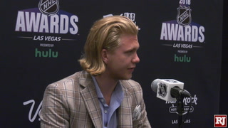 William Karlsson On Winning The Lady Byng Memorial Trophy
