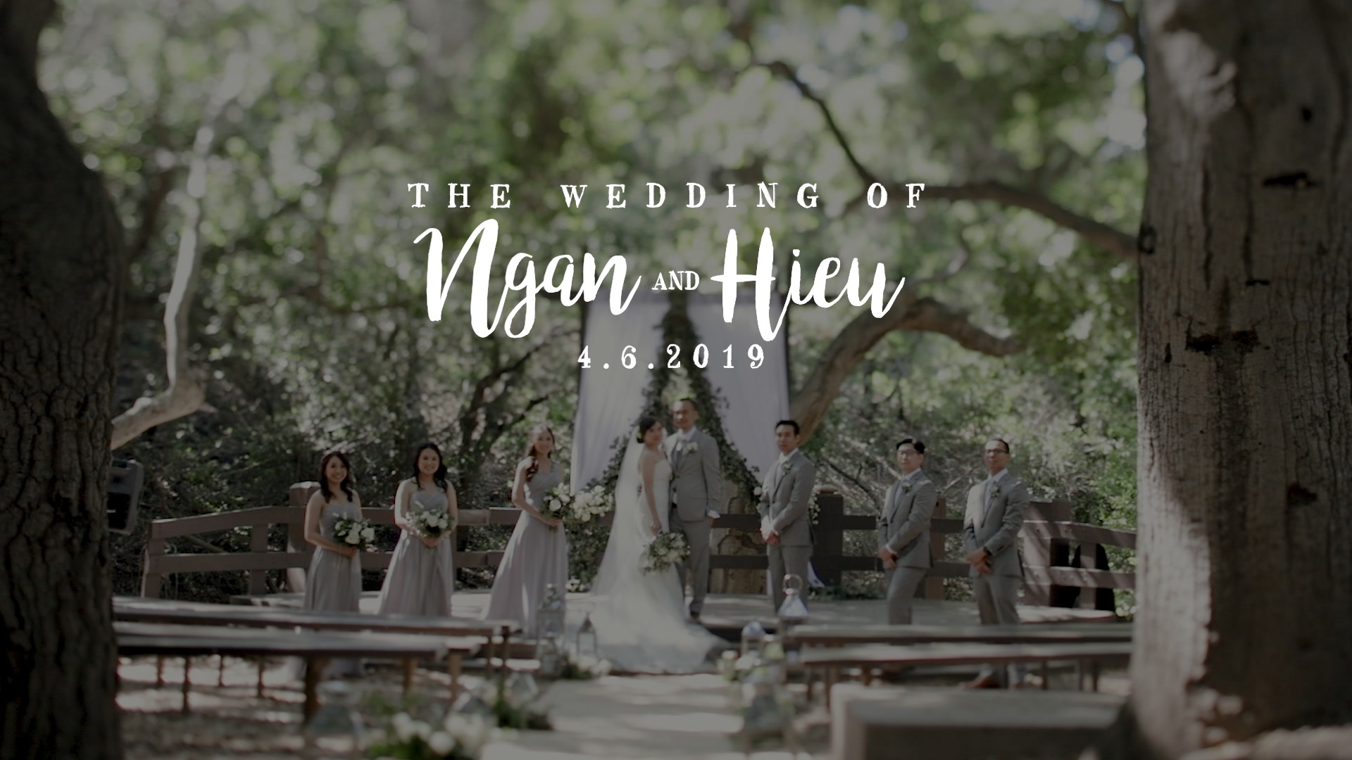 Ngan + Hieu | Huntington Beach, California | The Venue