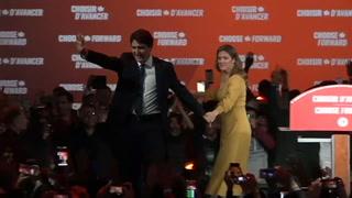 Trudeau gana un segundo mandato en Canadá pero sin mayoría absoluta