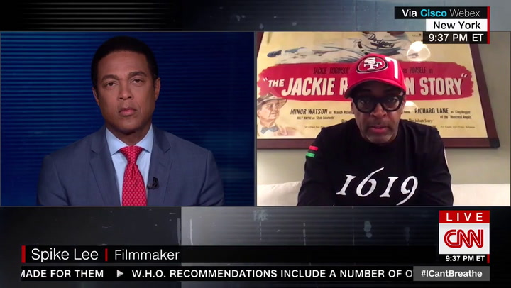 Spike Lee: Trump 'Ain't Helping' with 'Dehumanization of Black Lives'