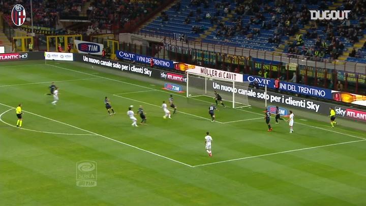 Bologna's best away goals against Inter