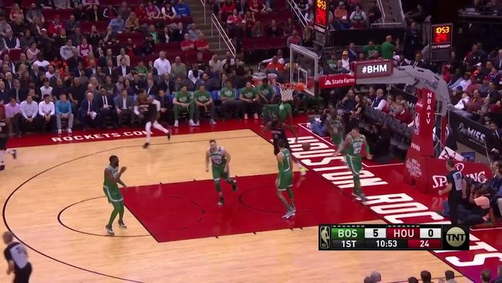 James Harden (Rockets), el más destacado de la jornada de la NBA del 11 de febrero 2020