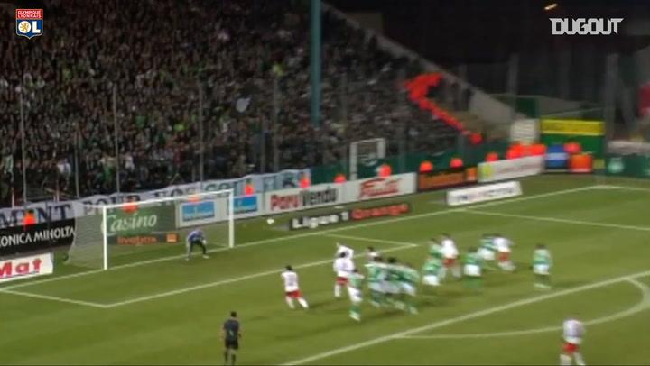 Free-Kicks: Karim Benzema Vs AS Saint-Étienne