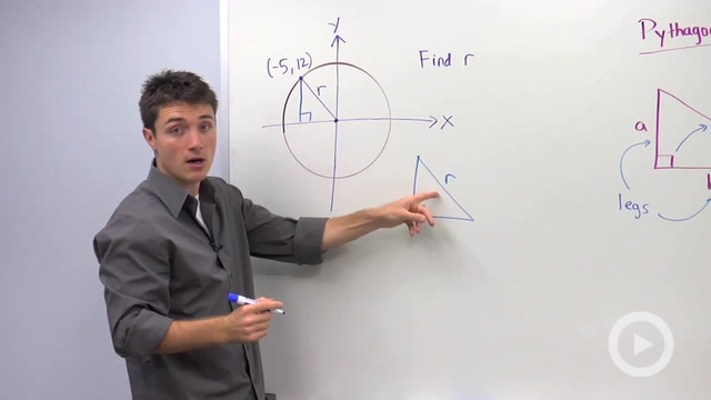 Using the Pythagorean Theorem to find a Missing Hypotenuse - Problem 4