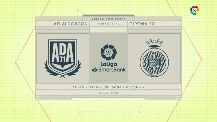 LaLiga Smartbank (Jornada 42): Alcorcón 2-0 Girona