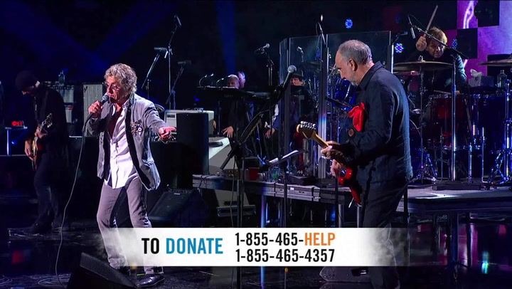 """The Who Perform """"Pinball Wizard"""" - 12-12-12 The Concert for Sandy Relief"""