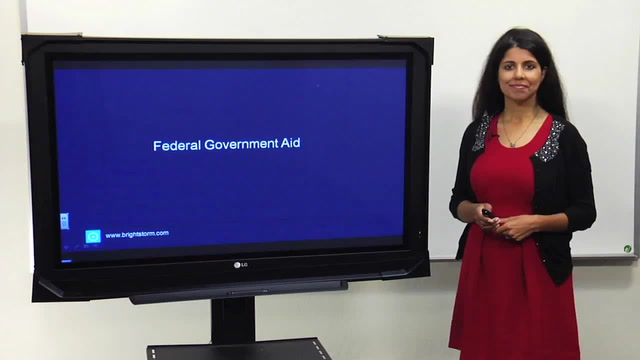 Federal Government Aid