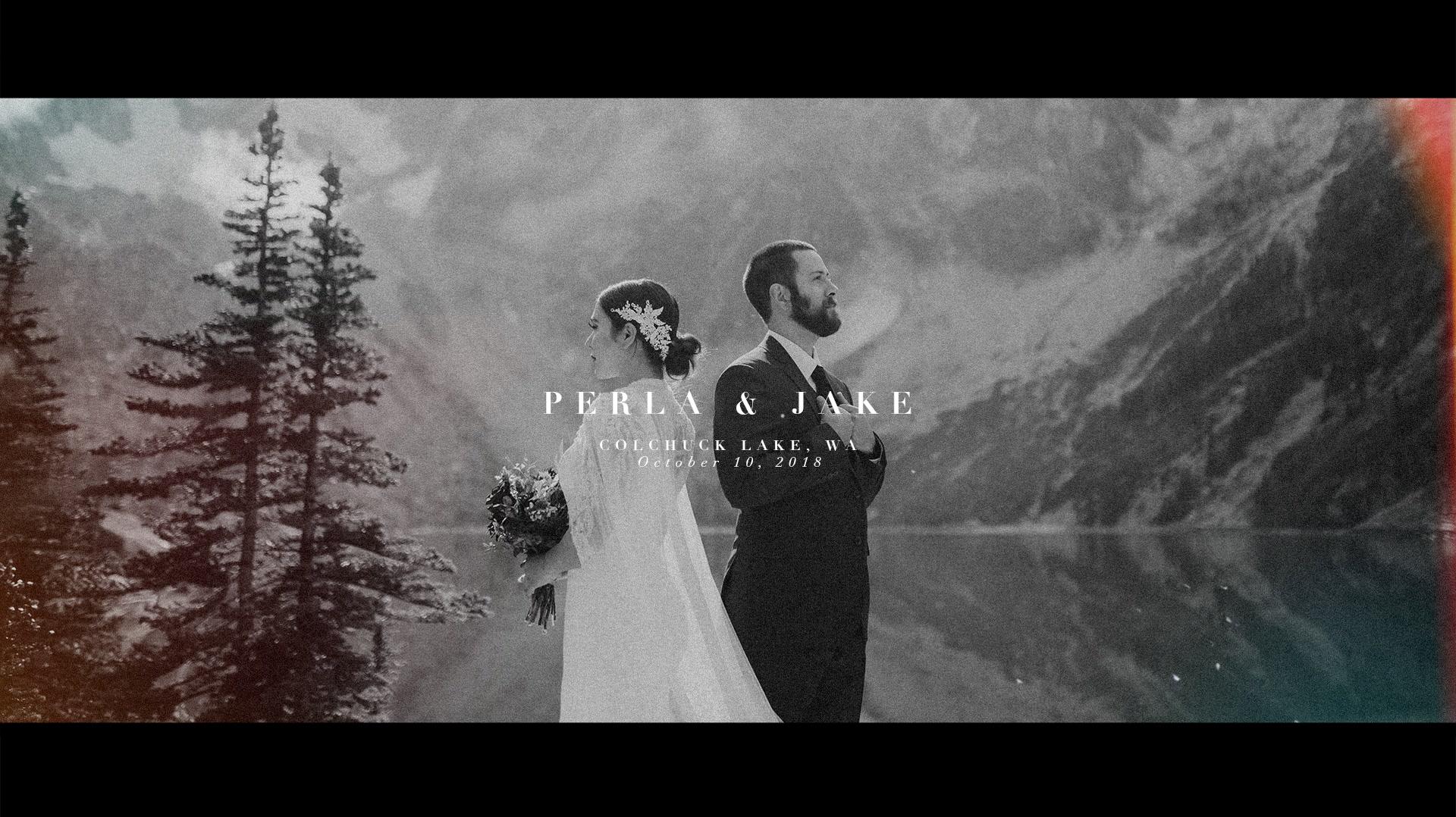 Perla + Jake | Leavenworth, Washington | a mountaintop