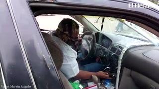 Taxitas presentan pruebas piloto en sus unidades para operar