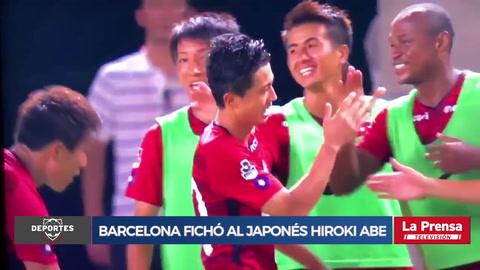 Barcelona fichó al japonés Hiroki Abe