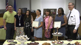 Truancy Judges Honored At Family Court – Video