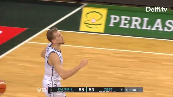 Así juega el base lituano Arnas Velicka