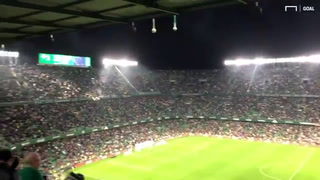 ¡Vaya homenaje! El mayor reconocimiento que ha recibido Messi de una afición del rival