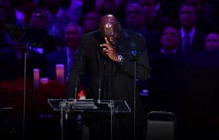 Michael Jordan, entre lágrimas: