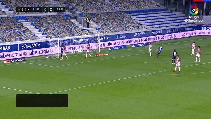 Gol de Sandro (1-0) en el Huesca 1-0 Athletic
