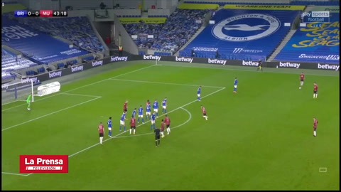 Brighton 0-3 Manchester United (Copa de la Liga)