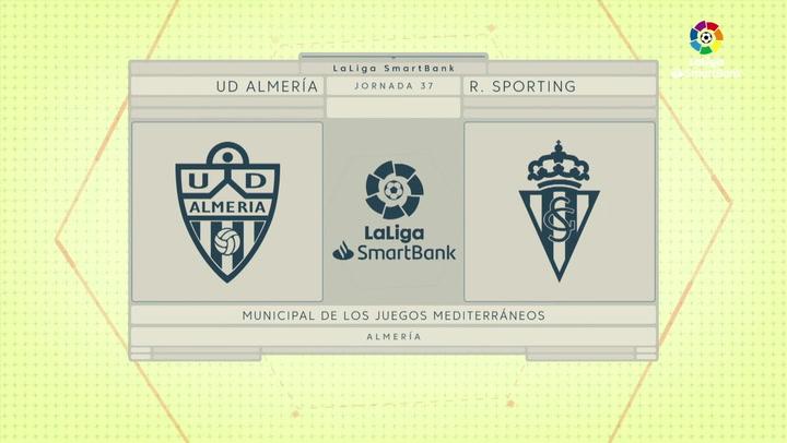LaLiga Smartbank (Jornada 37): Almería 1-0 Sporting