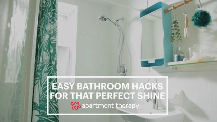 Easy Bathroom Hacks For That Perfect Shine