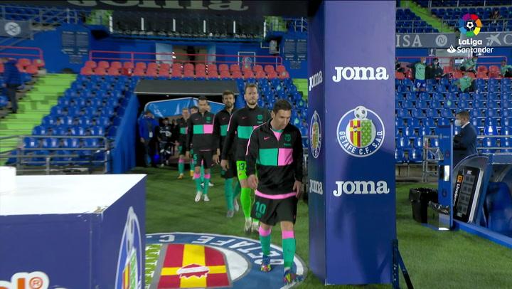 LaLiga Santander (J6): Resumen y gol del Getafe 1-0 Barcelona