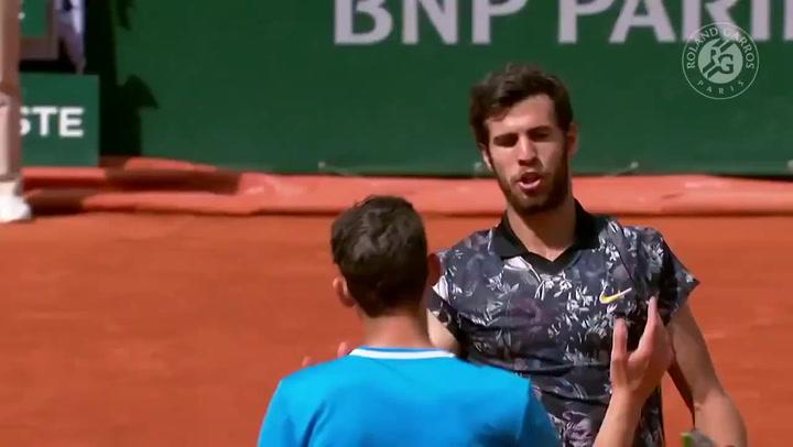Thiem derrota a Kachanov y encadena su cuarta semifinal consecutiva en Roland Garros