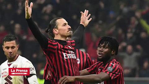 Deportes: Zlatan Ibrahimovic dejará al Milan este verano, según prensa italiana