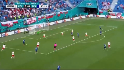 Polonia 1-2 Eslovaquia (Eurocopa)