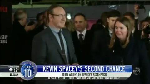 Robin Wright pidió una segunda oportunidad para Kevin Spacey