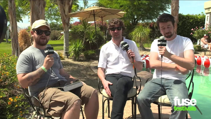 "Rock Duo Japandroids Love the ""Weird World"" of Coachella"