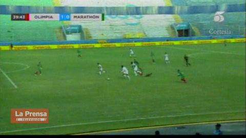 Olimpia 5-0 Marathón (Liga Nacional de Honduras)
