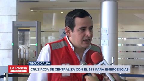 Cruz Roja se centraliza con el 911 para emergencias