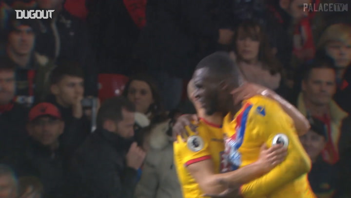 Every Andros Townsend assist for Christian Benteke