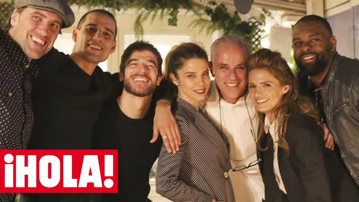 Flamenco y buena compañía: no te pierdas la noche de fiesta de Stana Katic con Alfonso Bassavé