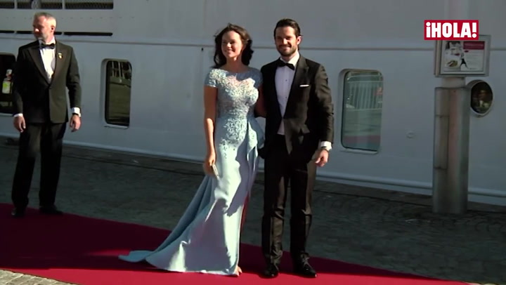 Carlos Felipe y Sofia Hellqvist despiden su soltería con una cena y un paseo en barco