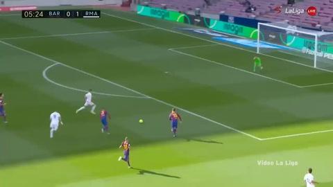 Barcelona 1-3 Real Madrid (La Liga)