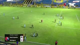 Gonzalo Klusener tiene ganando a Motagua 1-0 sobre Real España