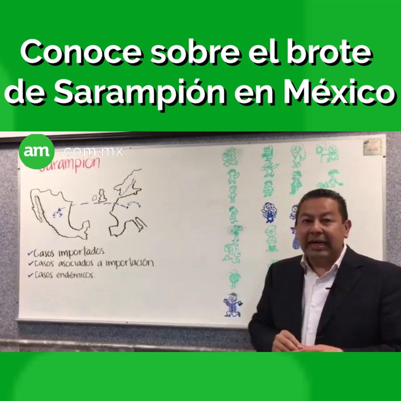 Infórmate sobre el sarampión en México