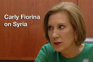 Carly Fiorina on Syria