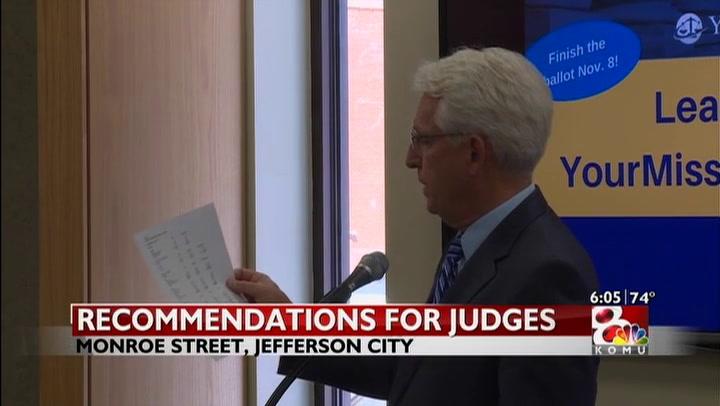 Judges evaluated before retention vote