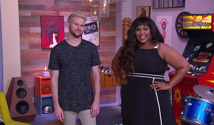 Ricky Dillon and Lizzo List People's Sexiest Men Alive: Trivial Takedown PreGame
